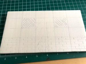 Cottage - Tutorial costruire un modello in scala in polistirene