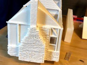 Costruzione in scala dell'Anne Hathaway's Cottage