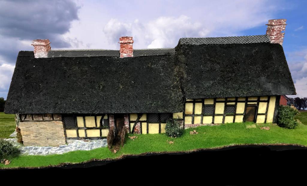 Tutorial costruzione Anne Hathaway's Cottage