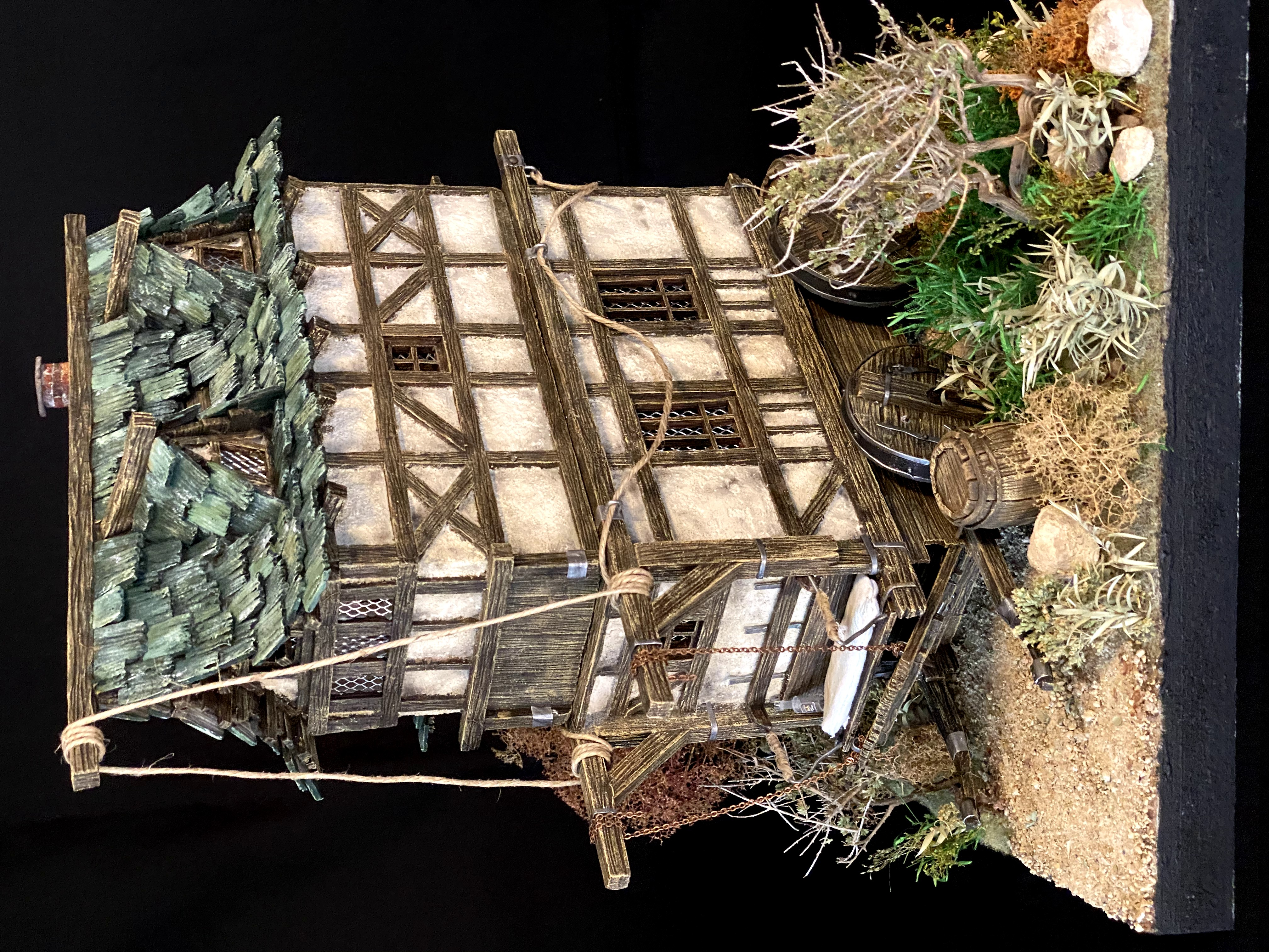 Nomad a Wagon House for d&d and tabletop games