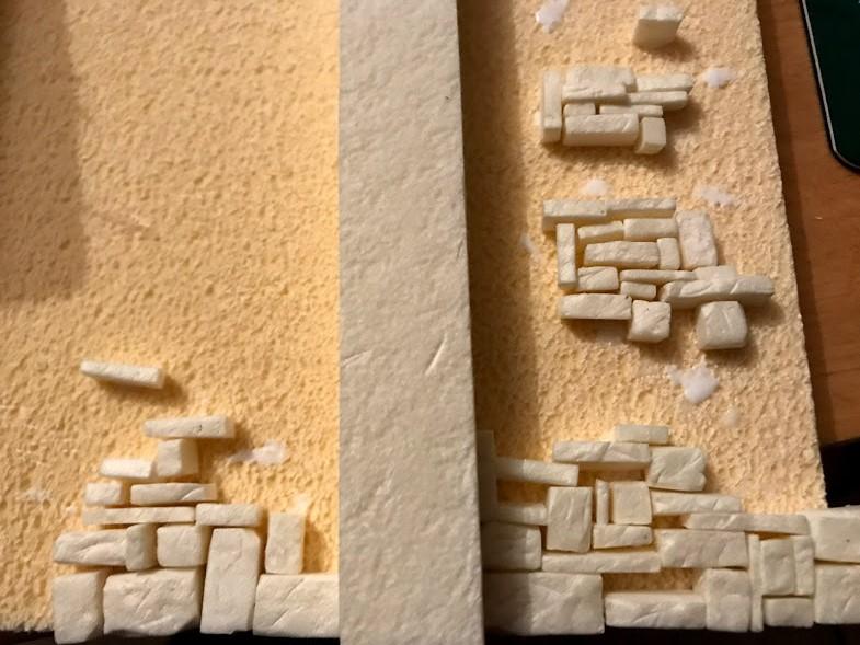 costruzione di una roccaforte fantasy