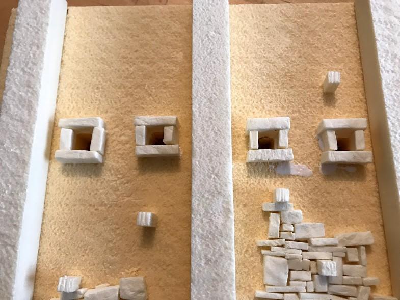 costruzione di una roccaforte fantasy - feritoie