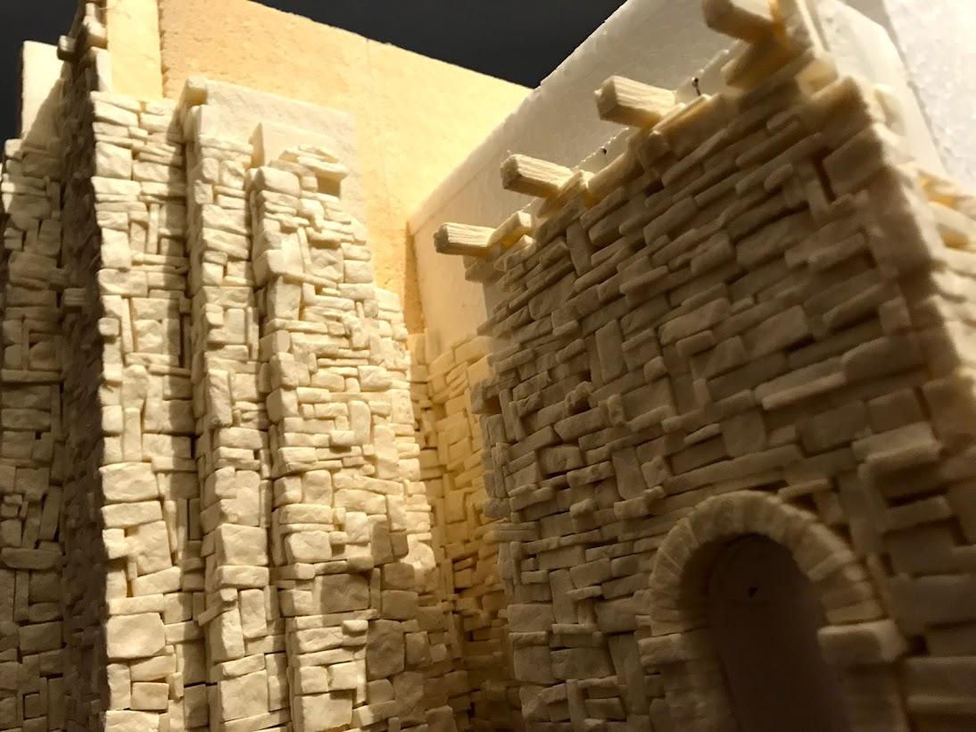 tutorial costruzione di una roccaforte fantasy