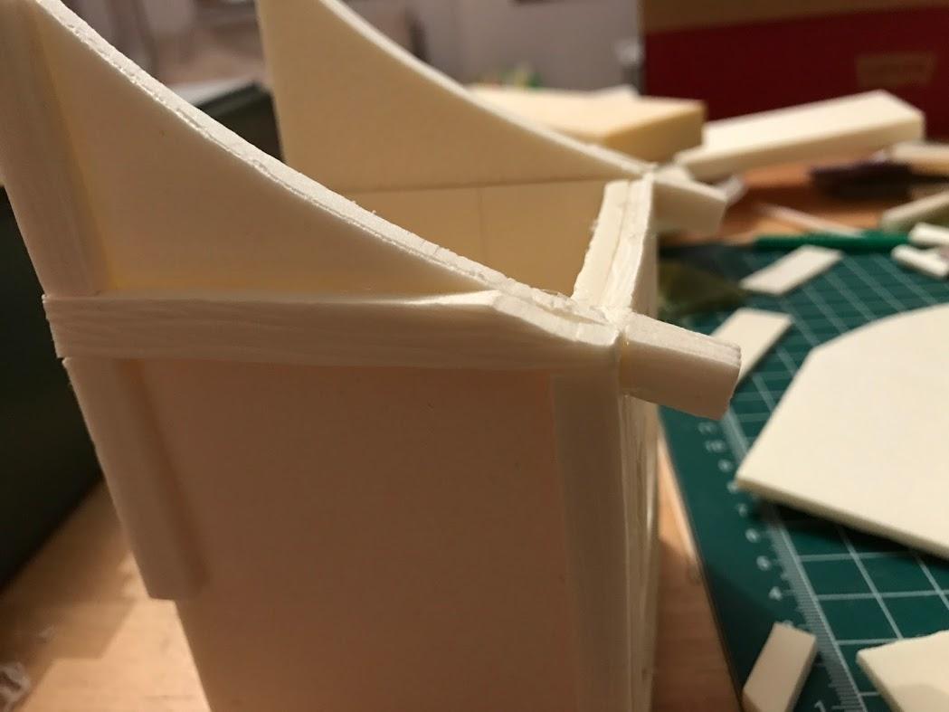 Costruzione di una casa medieval fantasy - Modellismo fantasy