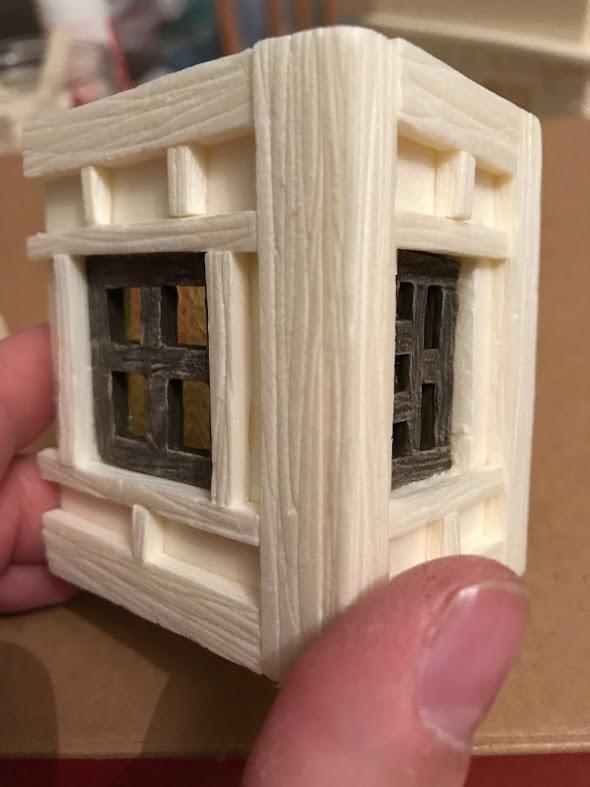 townhouse finestra modellismo e diorami fantasy