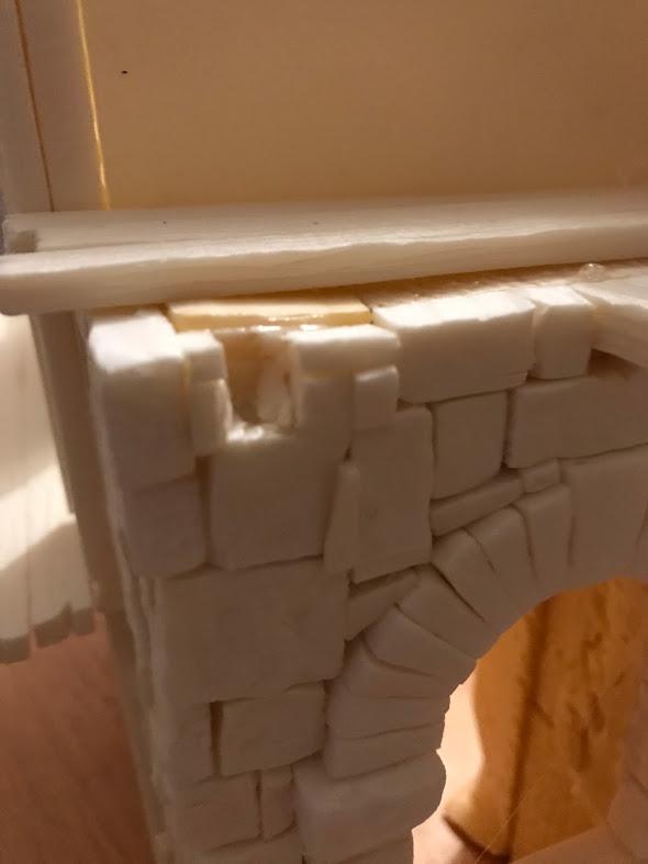 tutorial costruzione townhouse modellismo e diorami fantasy