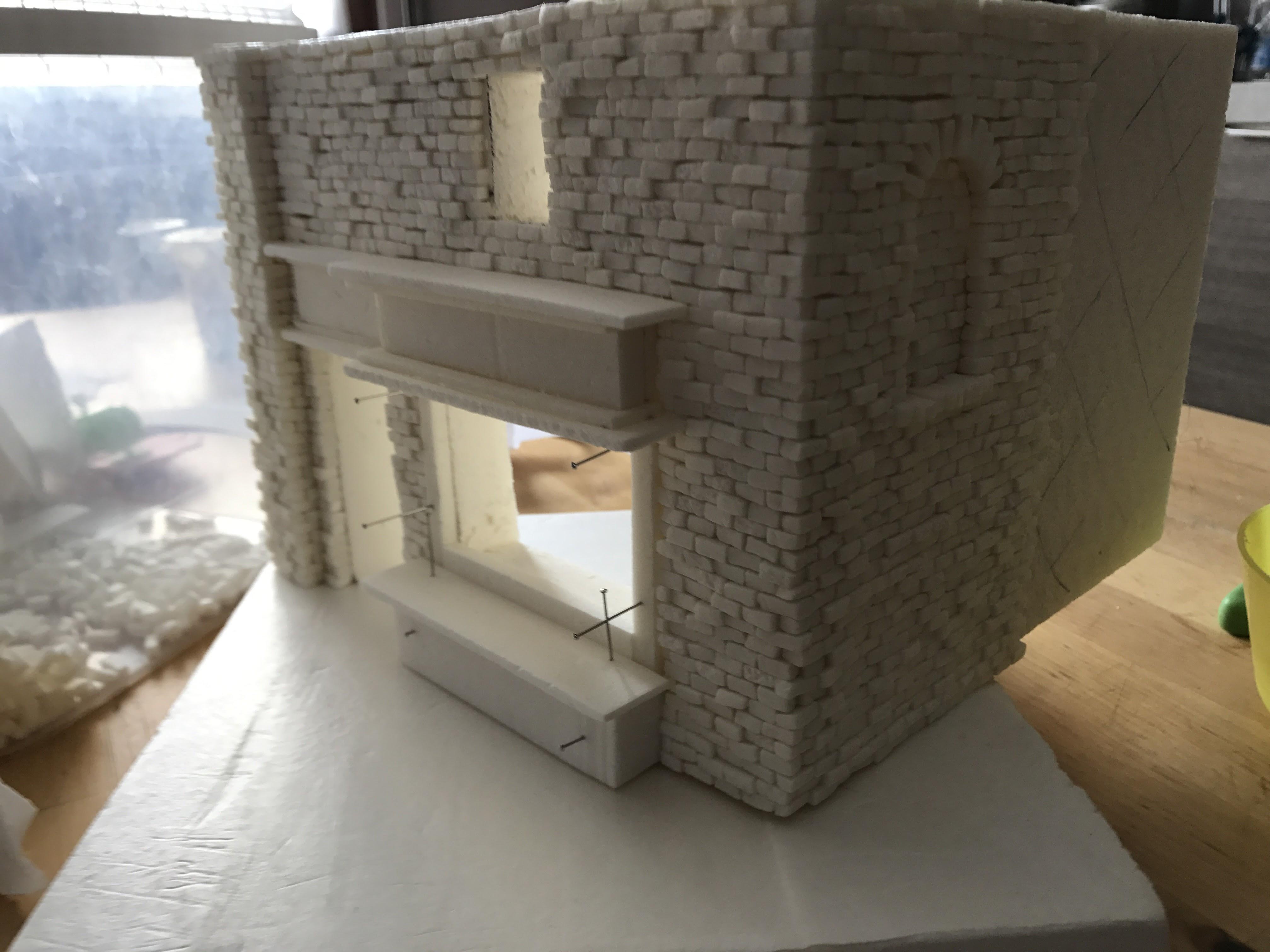Gringotts - Costruire un diorama in stile urban style
