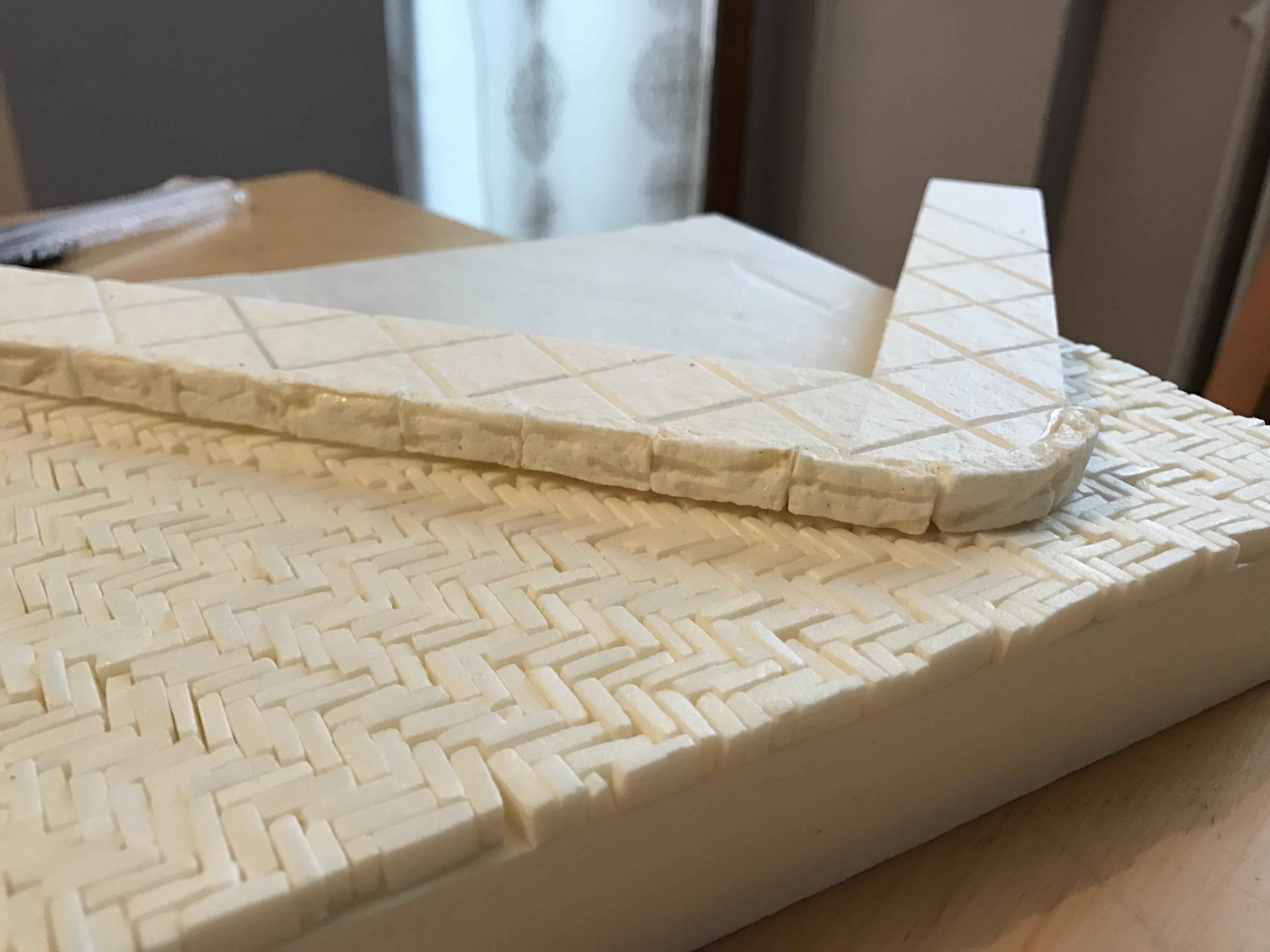 Gringotts - Tutorial costruzione di un diorama in urban style