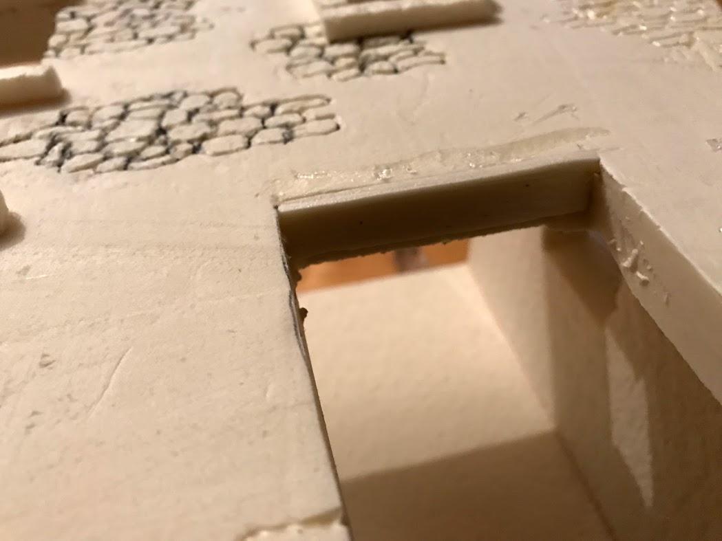 incisione delle pietre tramite saldatore e penna a sfera modellismo e diorami fantasy