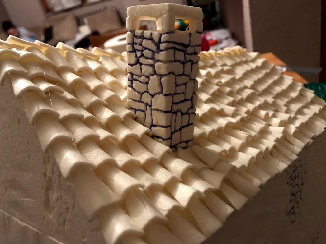 costruzione di un comignolo