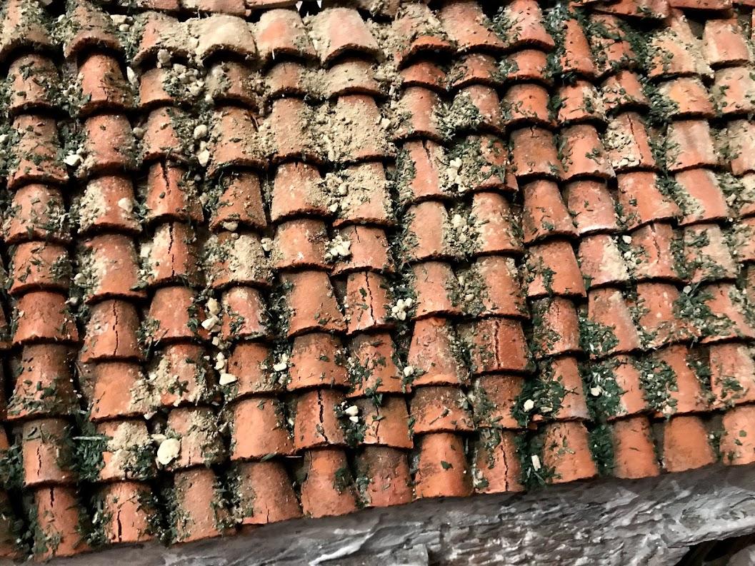 tutorial tetto di coppi per rudere di campagna