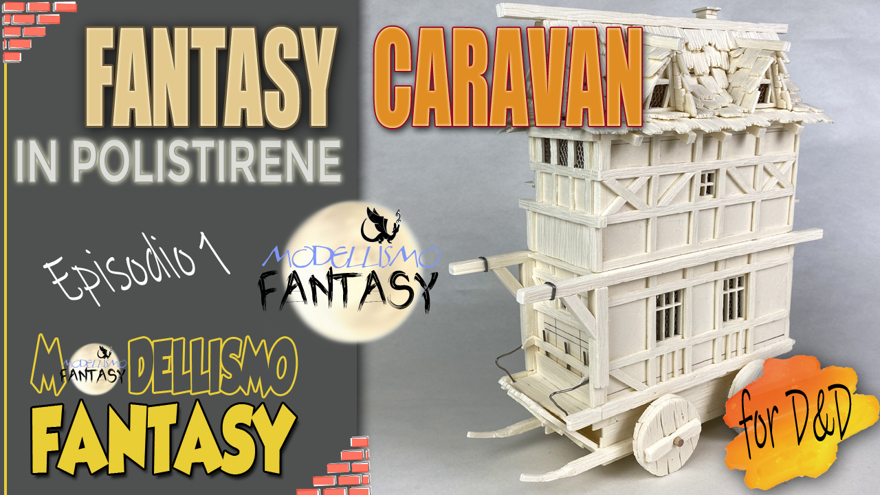 Tutorial costruire un diorama fantasy per dungeons and dragons