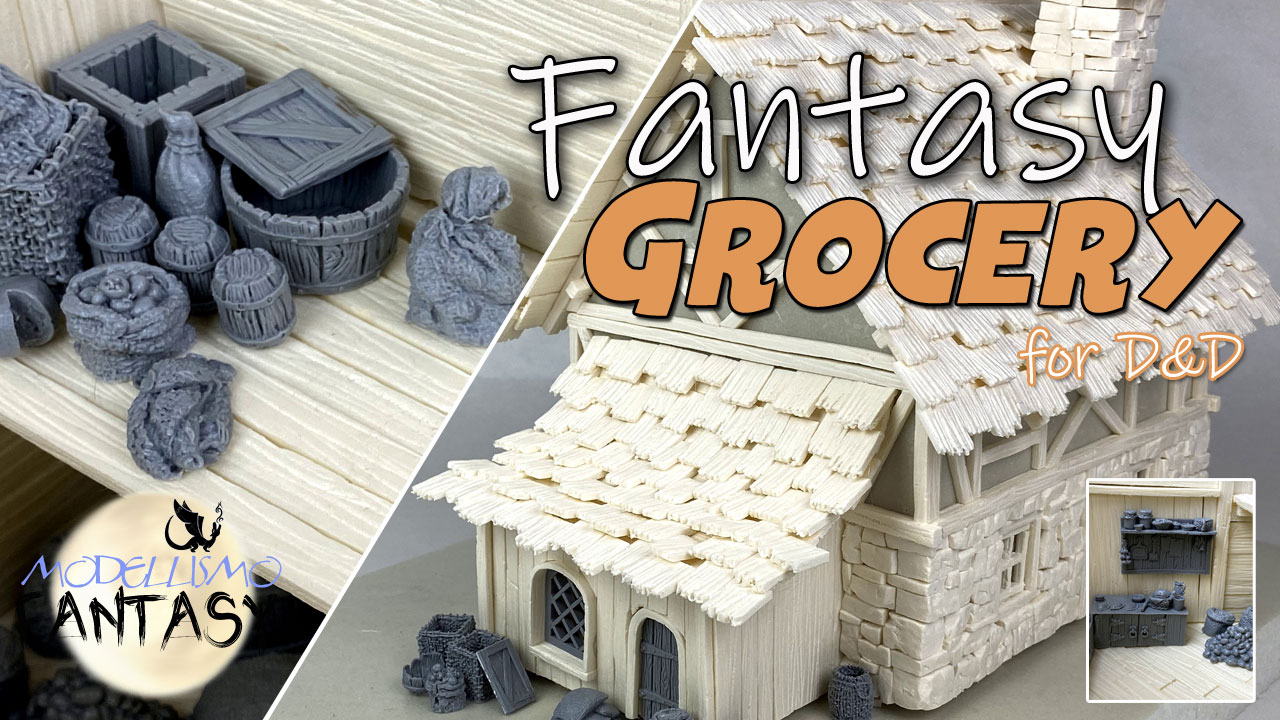 Tutorial costruzione di un diorama fantasy per dungeons and dragons